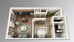 吴江房产-一居室居然可以设计得这么完美,简直帅爆!