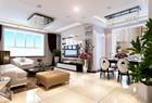 三室两厅美式风,纯纸浆质地的壁纸真好看!